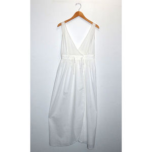 Vintage Dainty White Lace Edged Cotton Nightgown
